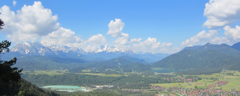 Wochenendtrip mit Wandern in die Jugendherberge Mittenwald