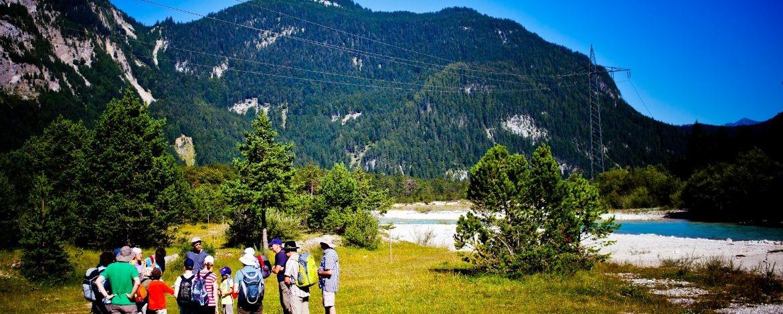 Preiswerte Familienunterkunft im Karwendelgebirge mit Wandern