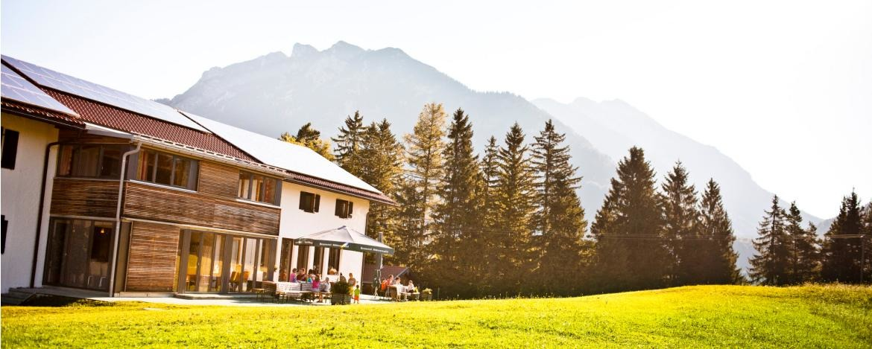 Klassenfahrt in die Jugendherberge Mittenwald