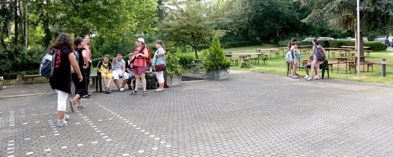 Jugendherberge Ludwigsburg Vorplatz
