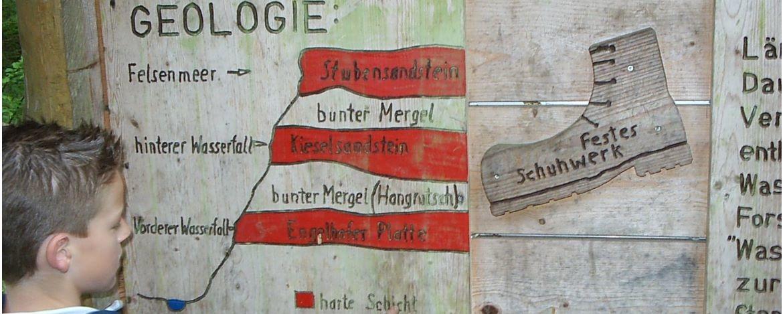 Geologie im Schwäbischen Wald