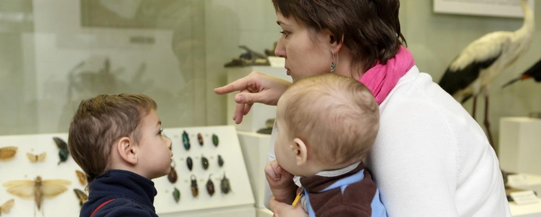 Museumsbesuch mit der Familie