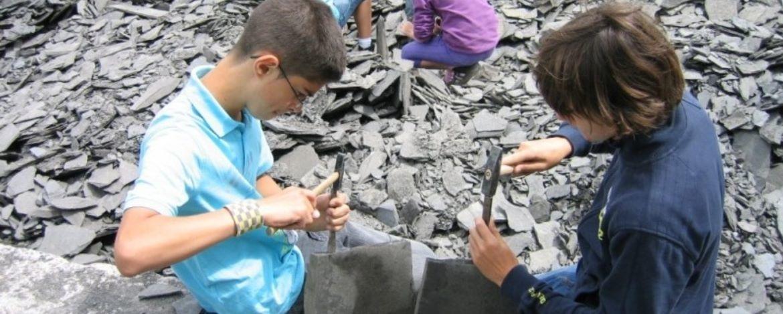 Fossiliensuche auf der Schwäbischen Alb