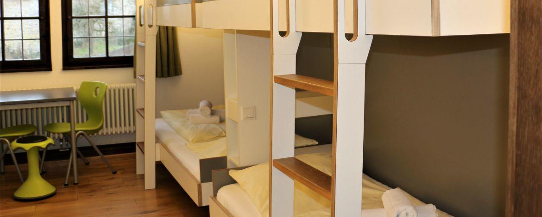 Ritter in der Jugendherberge Dinkelsbühl