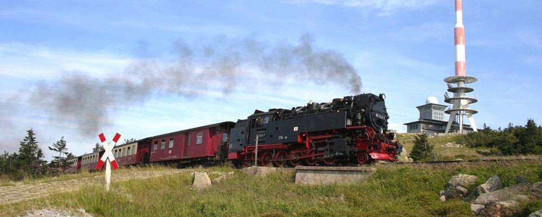 Brocken mit Brockenbahn