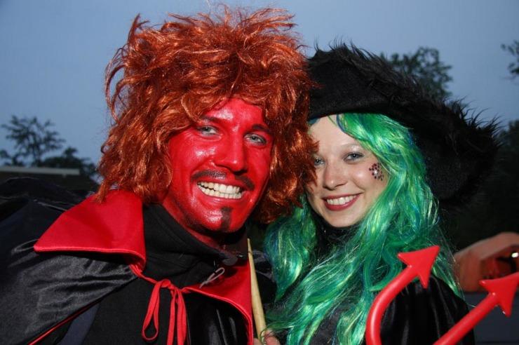 Hexe & Teufel zur Walpurgisnacht auf dem Hexentanzplatz