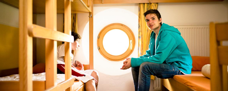 Günstige Klassenfahrt in die Jugendherberge