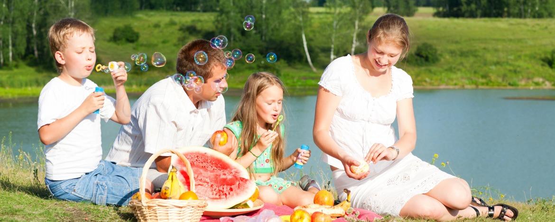 Familienurlaub Köthener See mit Zeltplatz