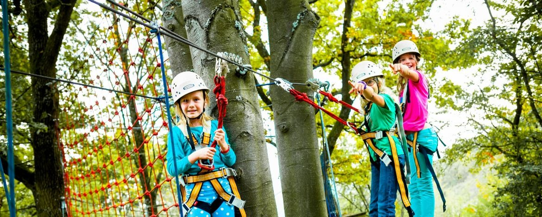 Aktivferien mit Kletterwald in Füssen