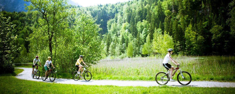 Klassenfahrt mit Mountainbiking in Bayern