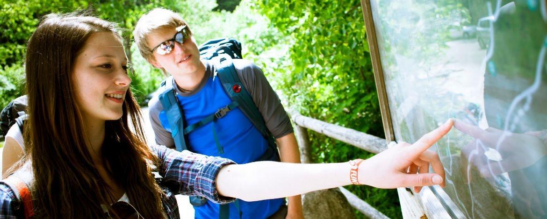 Outdoor Klassenfahrt mit Wandern in Bayern