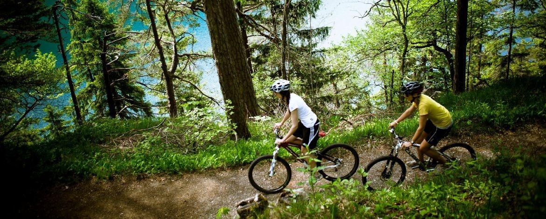 Aktive Klassenfahrt mit Mountainbiken im Allgäu