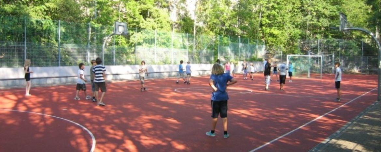 Fußball in der Jugendherberge Lochen