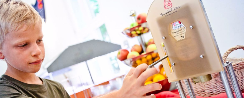 Gesunde Ernährung Bio in der Jugendherberge