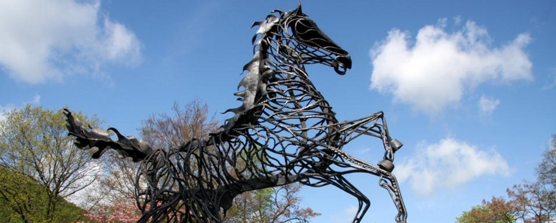 Wotans achtbeiniges Pferd Sleipnir