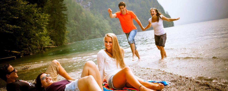 Badespaß in Berchtesgaden