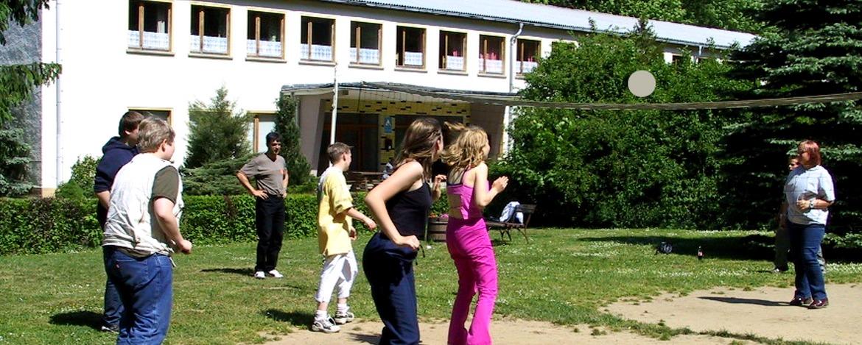 Bolzplatz der Jugendherberge