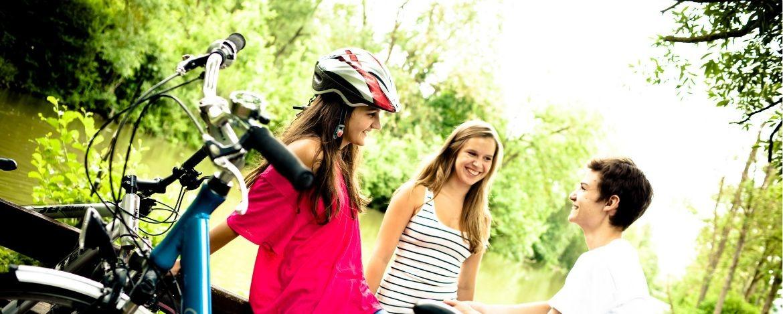 Radfahren im Familienurlaub