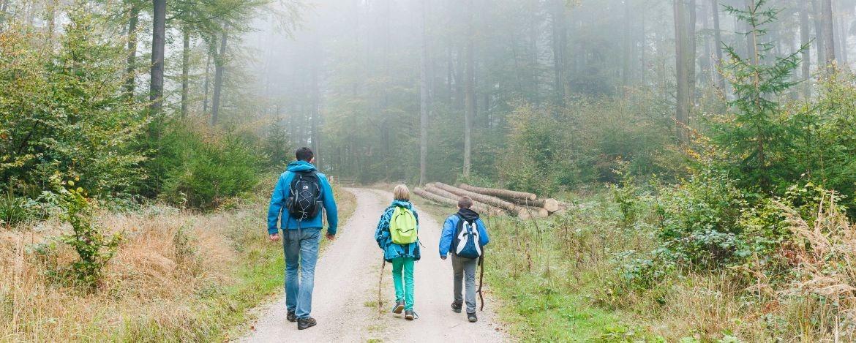 Wanderurlaub mit der Familie in der Jugendherberge Kelheim