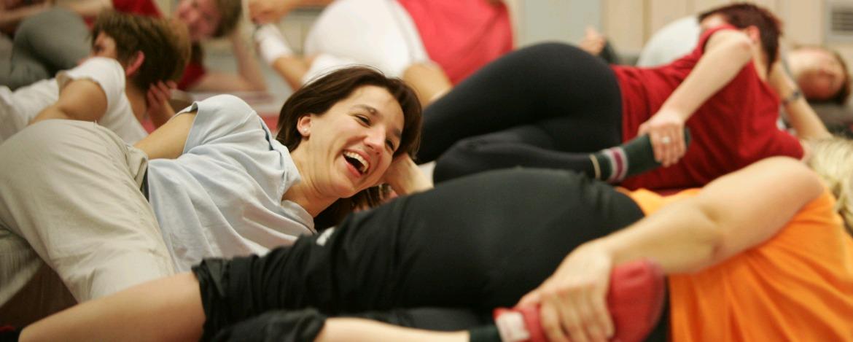 Bewegung im Gymnastikraum