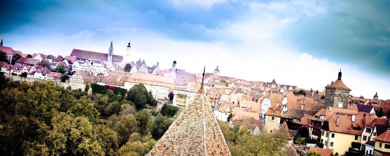 Blick auf die mittelalterliche Altstadt