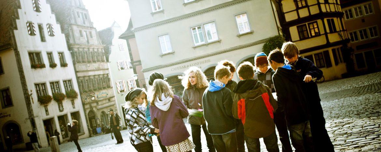 Klassenfahrt mit Besuch und Führung im Kriminalmuseum,
