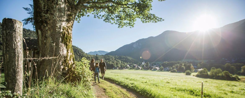 Wandern mit der Familie in Bayern