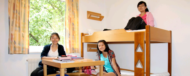 Zimmer in der Kultur|Jugendherberge Karlsruhe