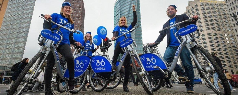 Fahrradverleih nextbike in Karlsruhe