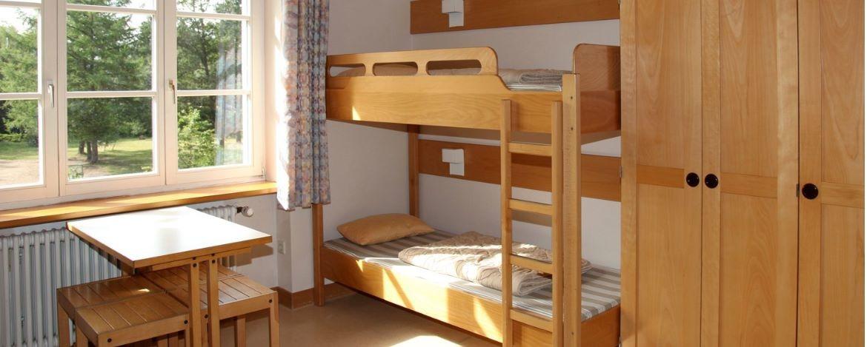 Zimmer in der Jugendherberge Seebrugg