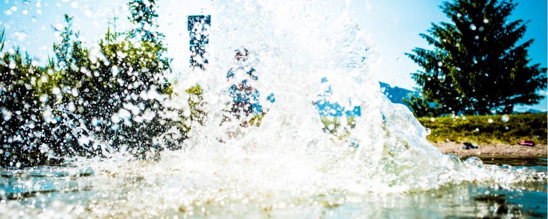 Wasserspaß an der Isar