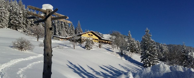 Die Jugendherberge Bayrischzell-Sudelfeld im Winter