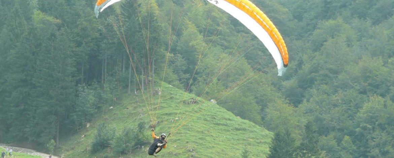 Gleitschirmfliegen im Schwarzwald