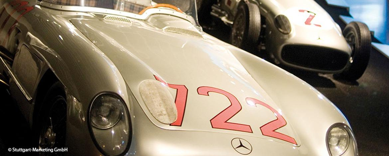 Mercedes-Benz Museum Rennwagen