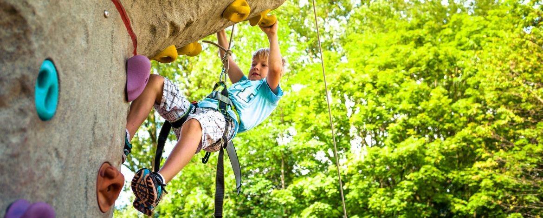 Familienurlaub mit Klettern in Oberbayern