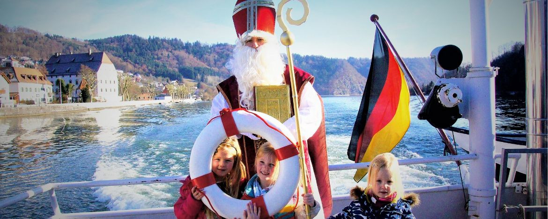 Nikolaus an Bord