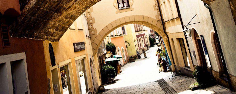 Denkmalgeschützte Altstadt von Burghausen