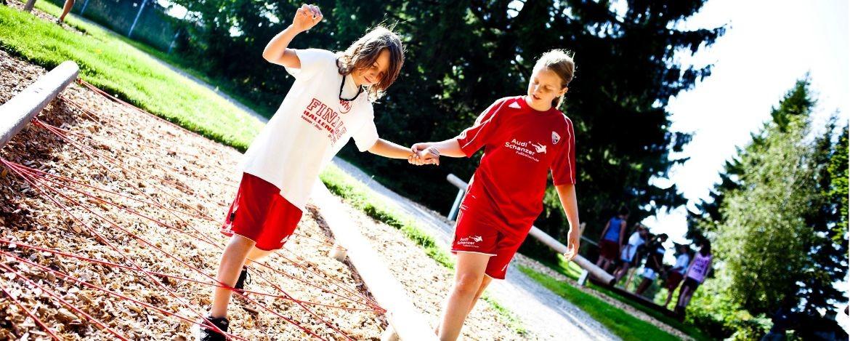 Sportgruppen in der Jugendherberge Bad Tölz