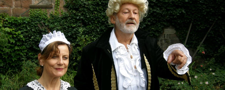 Kammerzofe Sophie und Kammerherr Albertus