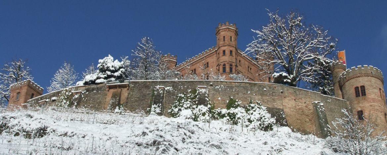 Schloss Ortenberg im Winter