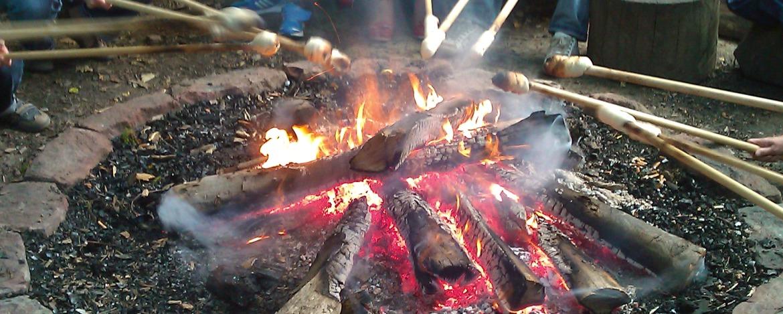 Stockbrot grillen