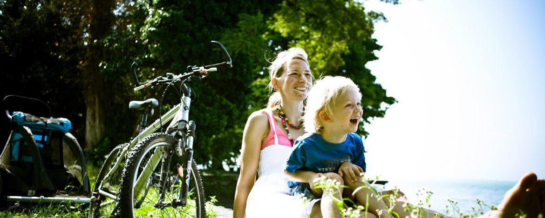 Familienurlaub mit Fahrradtour im Altmühltal Bayern