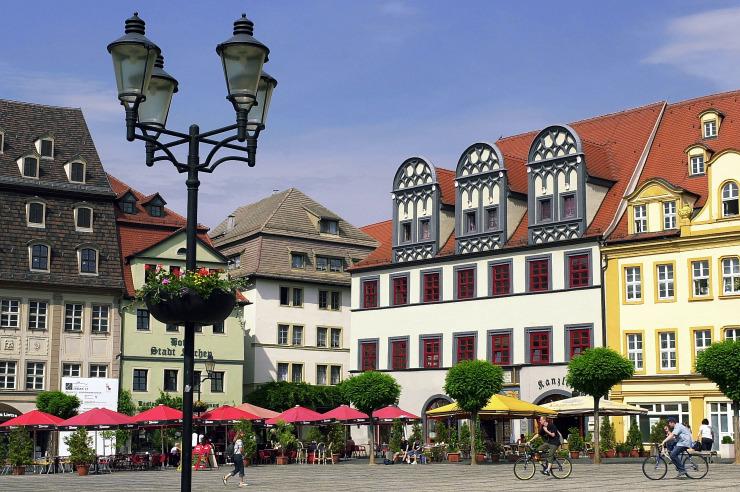 Markt in Naumburg