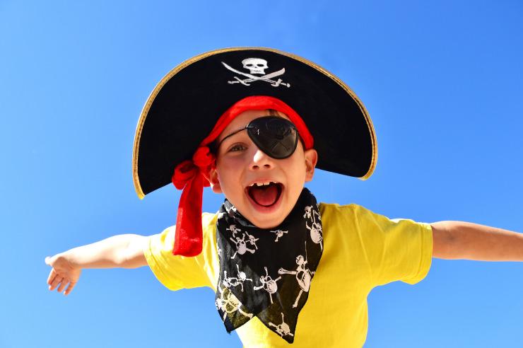 Ferienfreizeit in Kappeln - Pirat