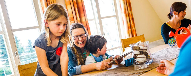 Familienurlaub in der Jugendherberge Wirsberg