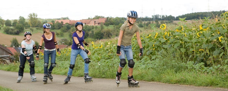 Inliner-Skater-Tour