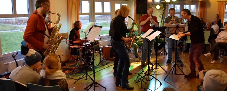Musikprobe in der Jugendherberge Dahme Ostsee