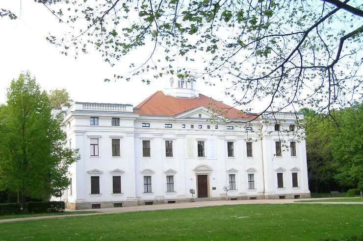 Schloss Georgium im Wörlitzer Gartenreich