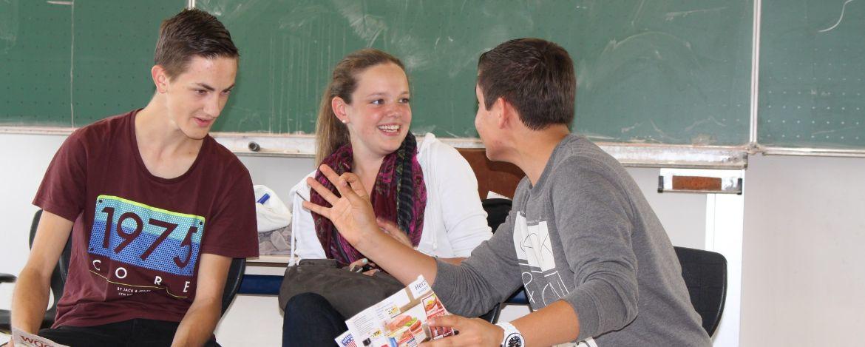 Klassenfahrt zum Thema Theater und Schauspiel