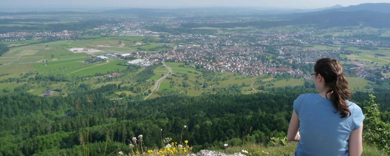 Aussicht am Lochenstein